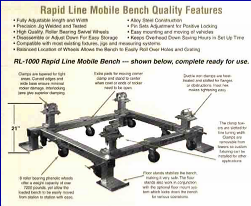 Rapid Line Mobile Bench